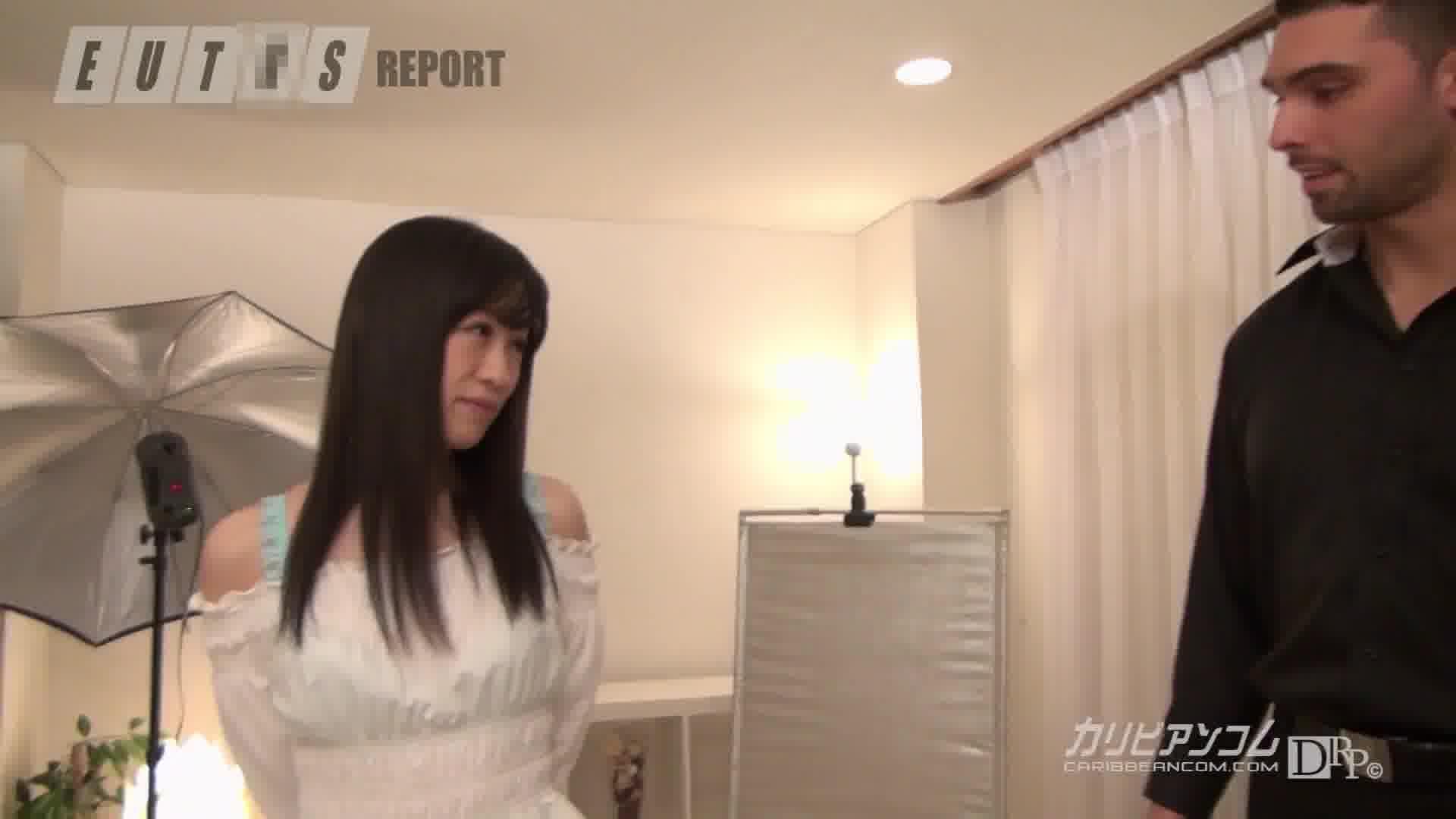 南欧テレビプロデューサーアントニオの日本AV潜入レポート - 京野結衣【美乳・乱交・潮吹き】