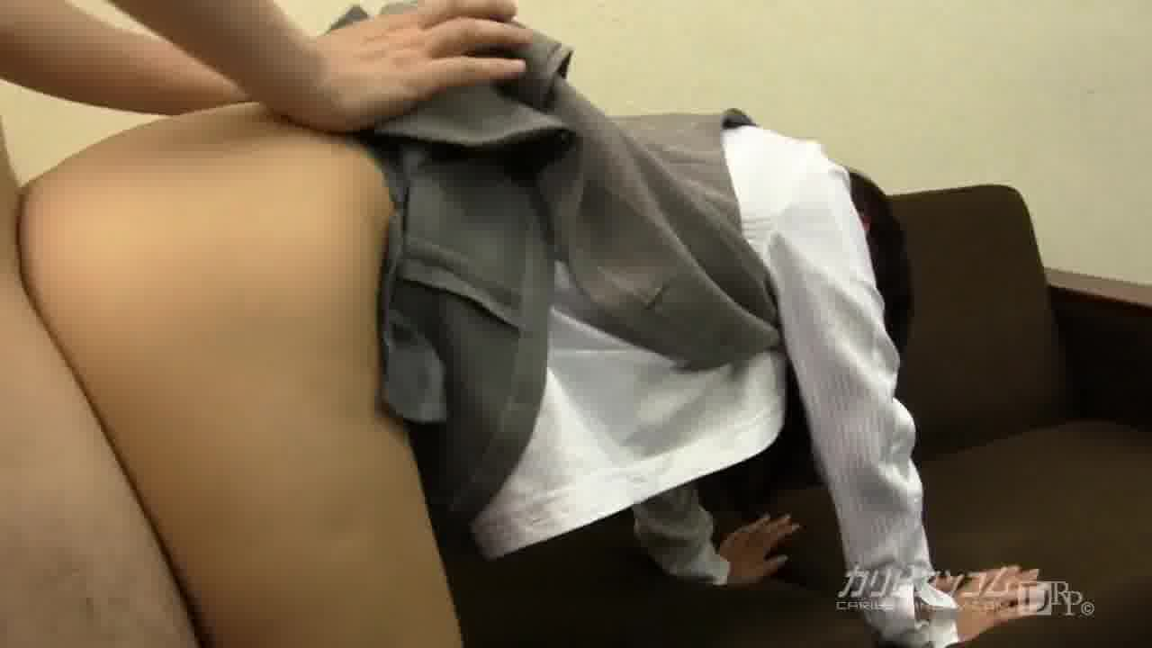 OLの尻に埋もれたい Vol.2 前編 - 中居ちはる【痴女・OL・巨乳】