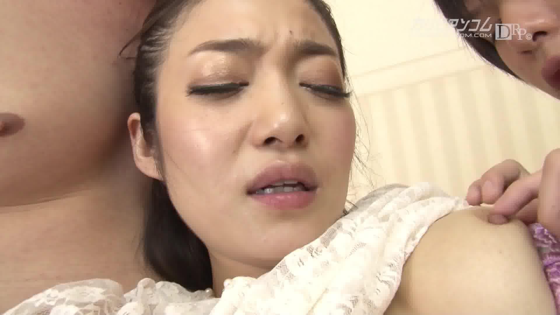 ぶっかけ熟女 8 パート 2 - 江波りゅう【潮吹き・オナニー・顔射】