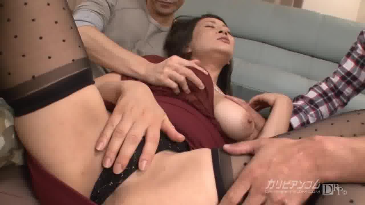 男を狂わす豊満美熟女 - 北島玲【痴女・乱交・巨乳】