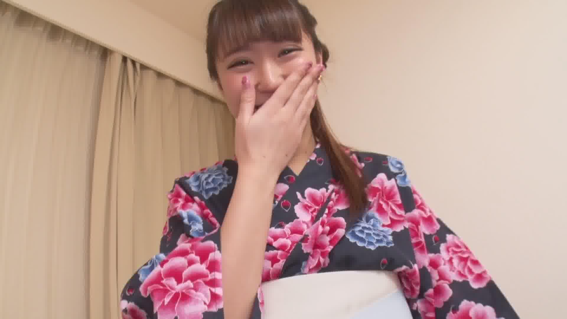 夏の想い出 Vol.12 - 逢沢はる【パイパン・浴衣・中出し】