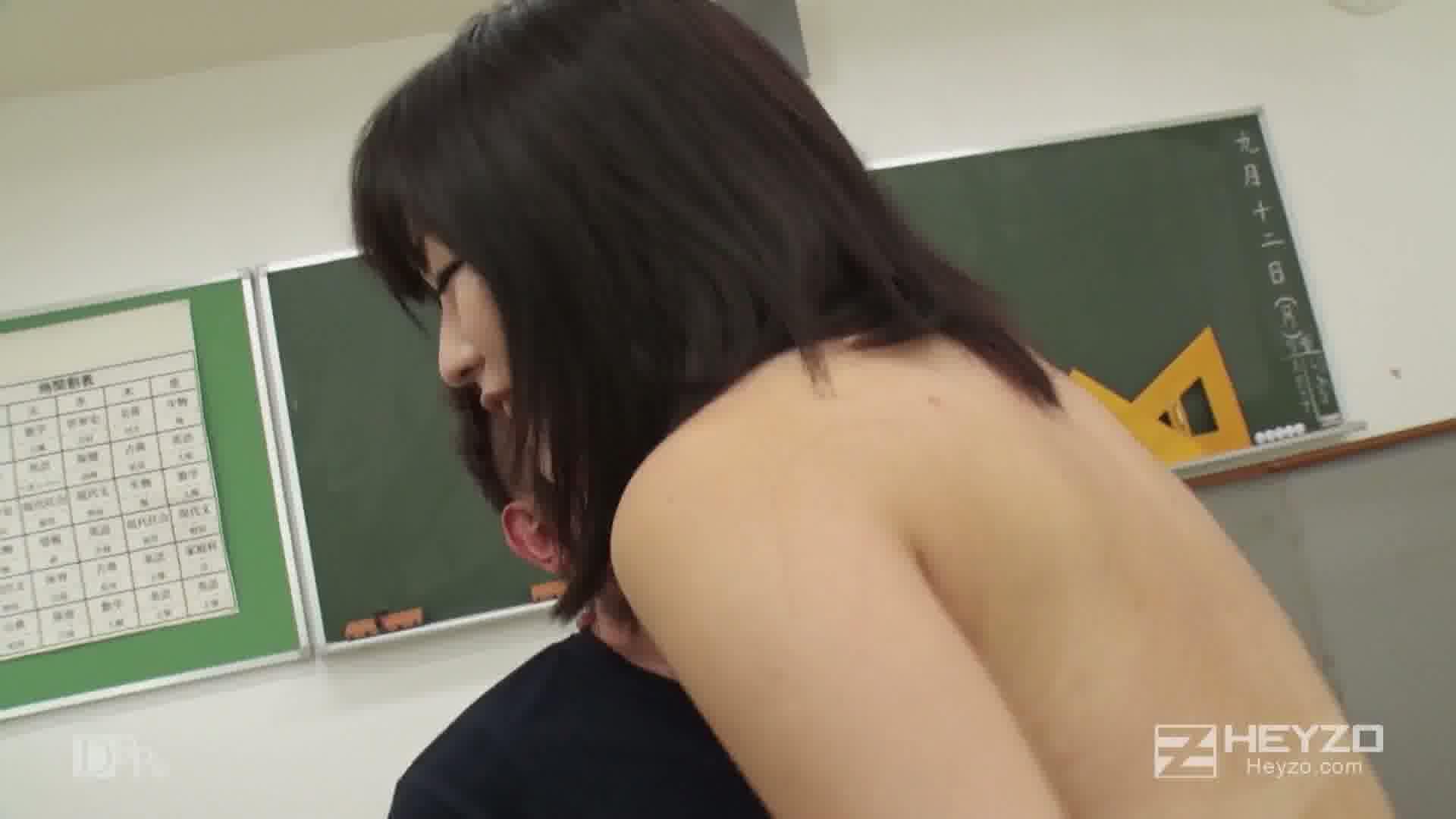 放課後の教室で... - 琴吹まりあ【立ちバック 騎乗位 正常位 背面騎乗位 中出し】
