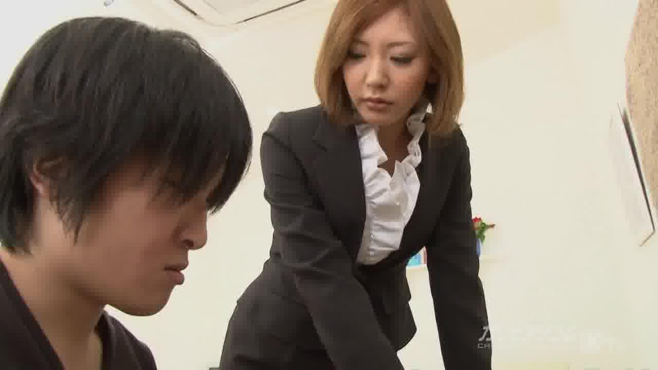 女教師家庭訪問 - 倉木みお【女教師・巨乳・中出し】
