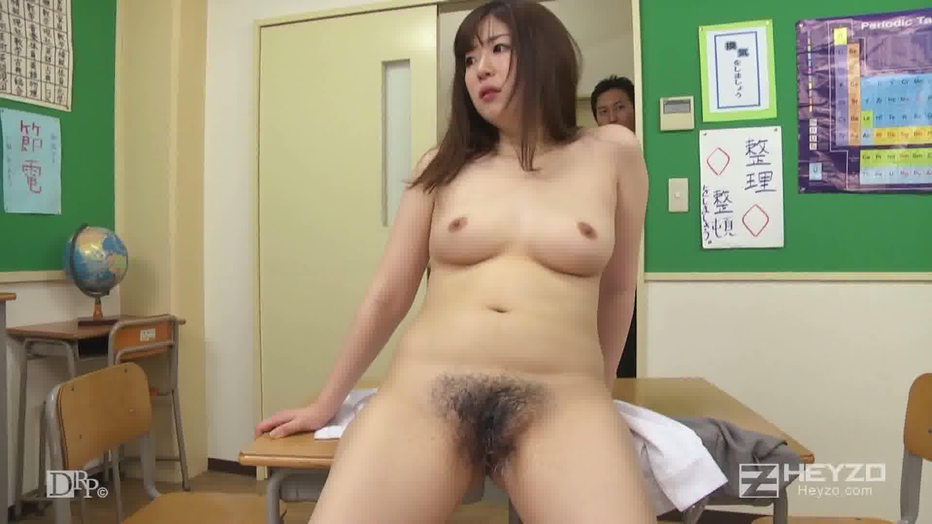 剛毛M女教師・花穂 - 花穂【バイブ フェラ ブッカケ カラミ開始】