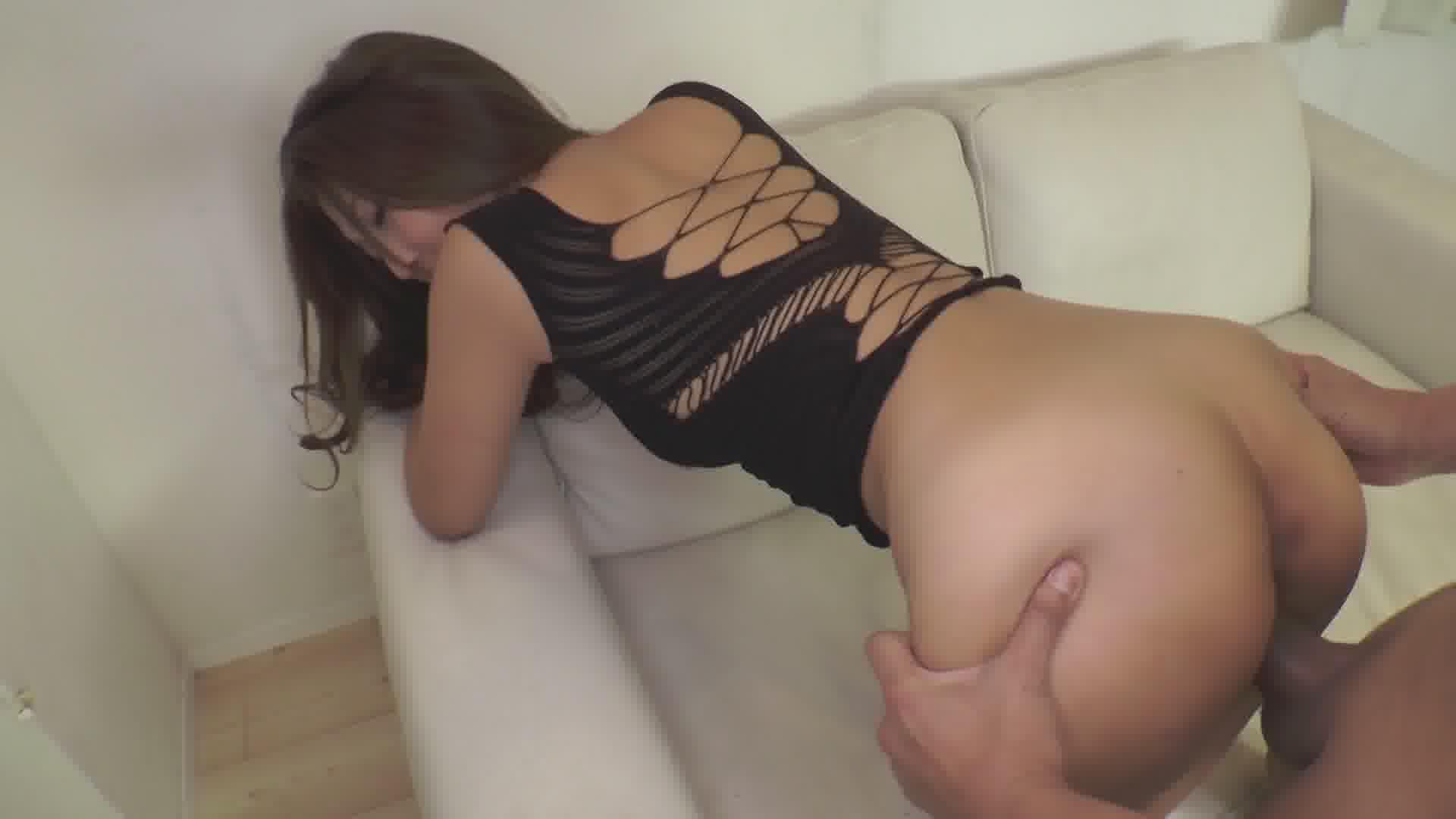 立ちハメスレンダー美女 - 百多えみり【美乳・オナニー・口内発射】