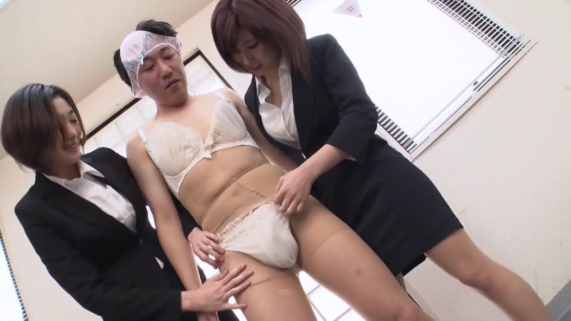 エスカレートする女上司たち ~下着開発部は女の戦場~ - 折原ほのか【痴女・OL・乱交】