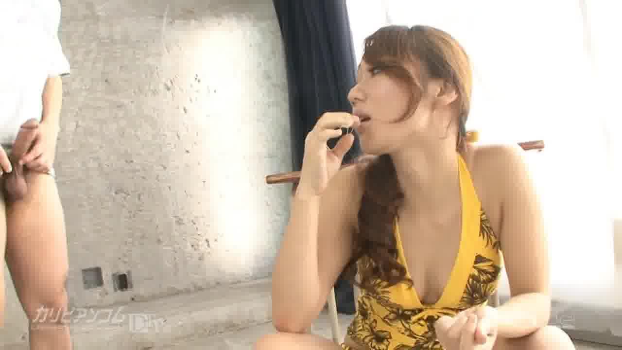 生徒を食べちゃうマドンナ先生 - 神崎レオナ【ハメ撮り・手コキ・隠語】