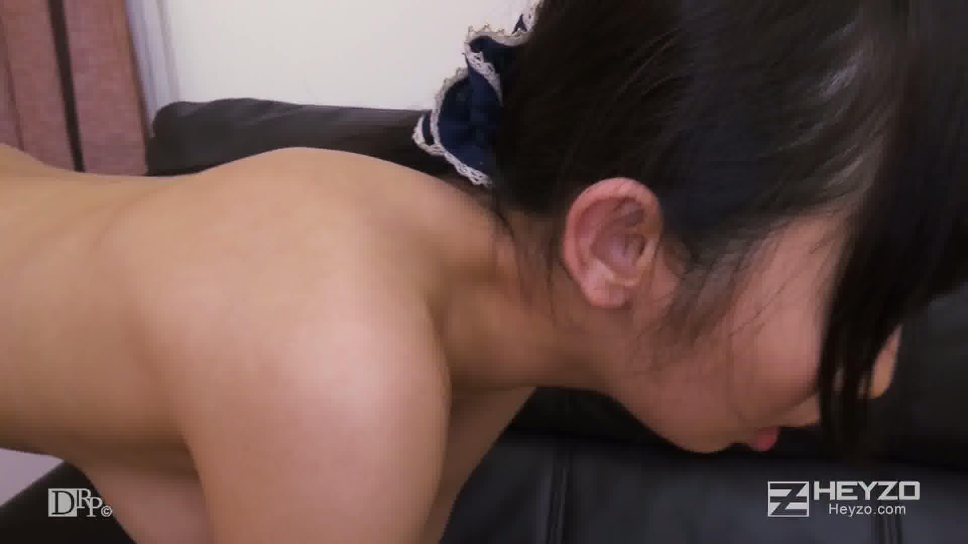 淫らな二人羽織~下の口でニンジンいただきます!~ - 美咲結衣【騎乗背面位 バック 騎乗位 正常位 側位 中だし】