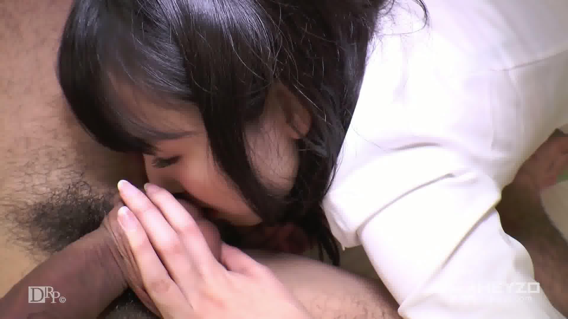 アフター6~美ボディOLはナメ上手~ - 上野真奈美【フェラ パンスト 紫色の下着 着衣】