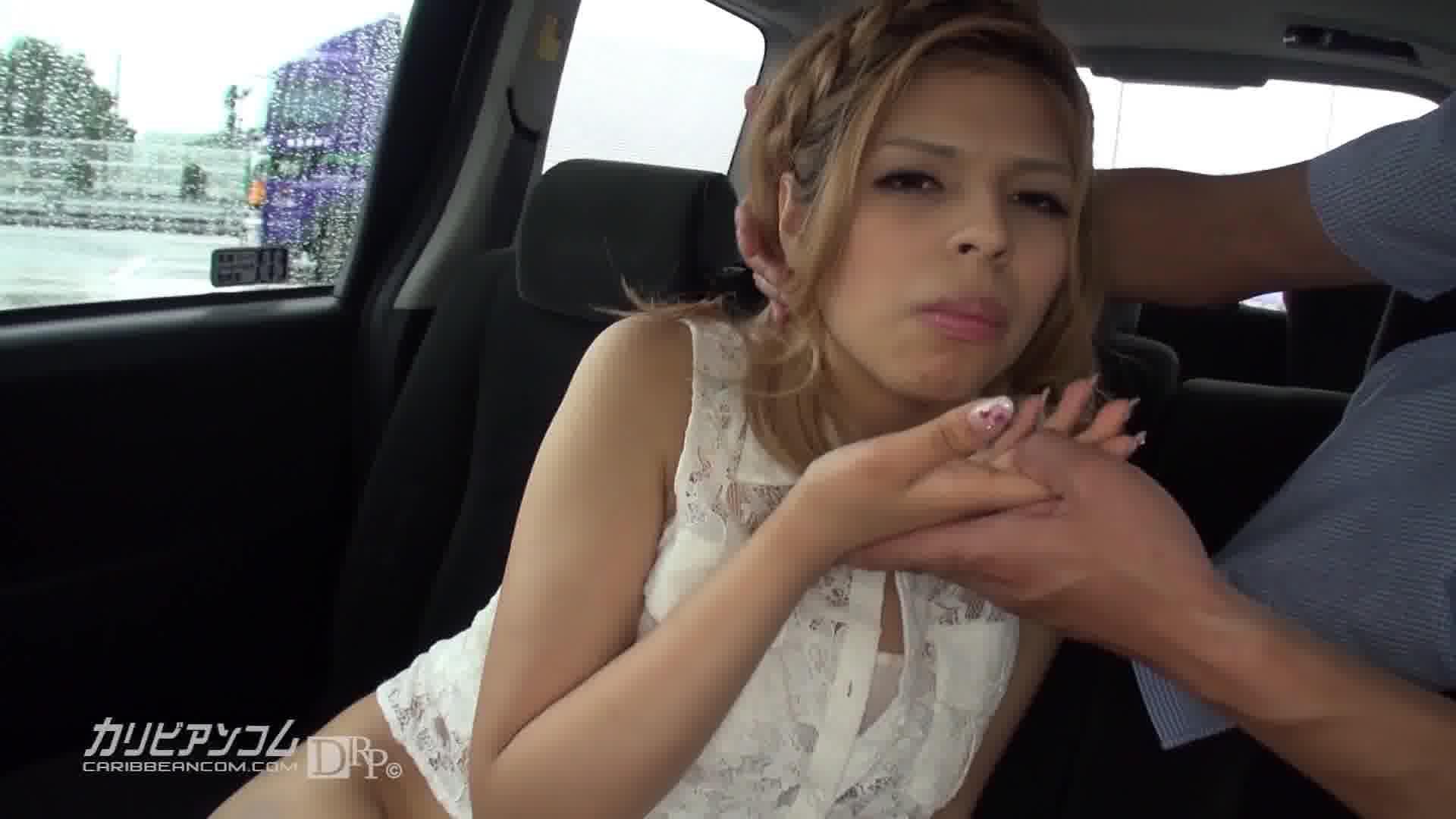 ドライブ Go Naked ~スピリチュアルスポットでパイパンマンコに幸せの種まき~ - 水原サラ【ギャル・野外露出・カーセックス】