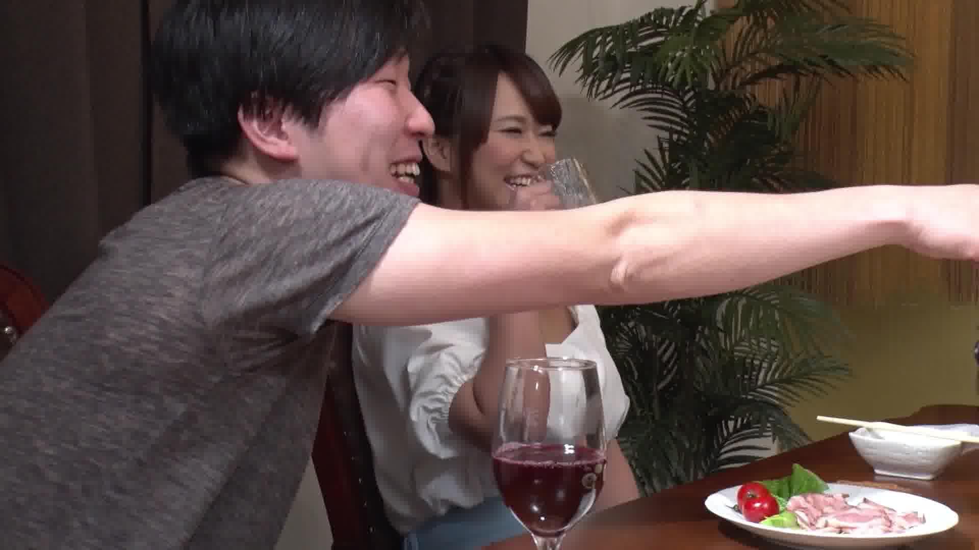 サークルの飲み会で乱交NTR ~楽しく5Pで中出しポンポーン~ - 岡本理依奈【乱交・巨乳・中出し】