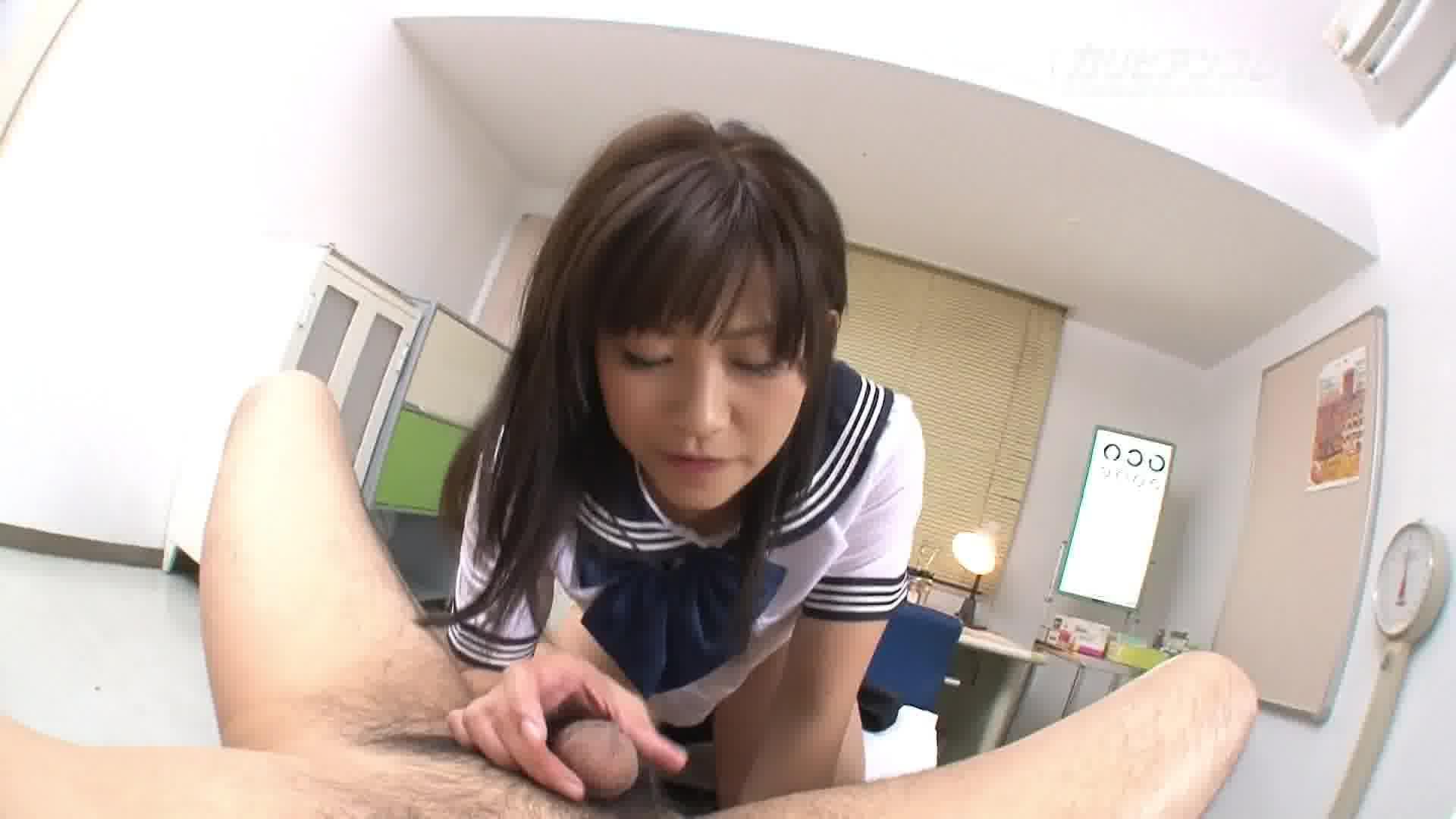 濡れる狂淫学園 入試編 - 星野あいか【制服・パイパン・中出し】