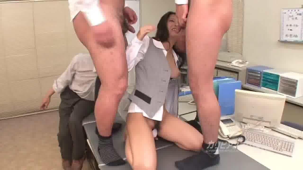 新入社員のお仕事 Vol.14 - 鈴木さとみ【制服・巨乳・中出し】