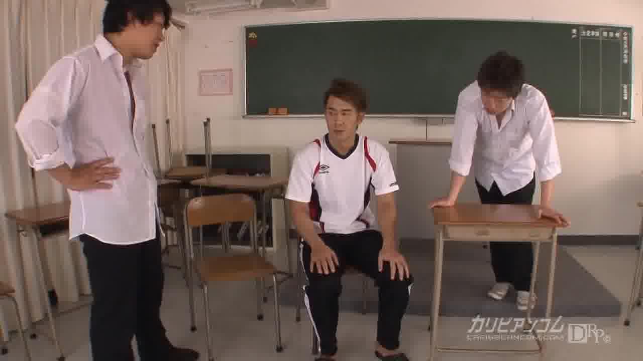縛られた女教師 - 波多野結衣【痴女・女教師・めがね】