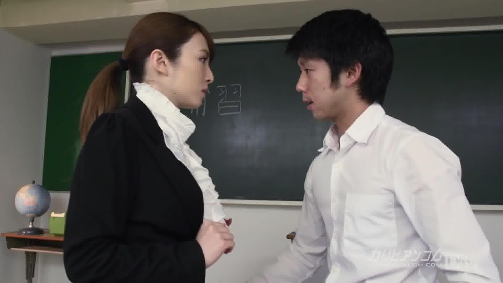 慟哭の女教師 プロローグ ~崩壊のはじまり~ - 大橋未久【女教師・ハード系・イラマチオ】