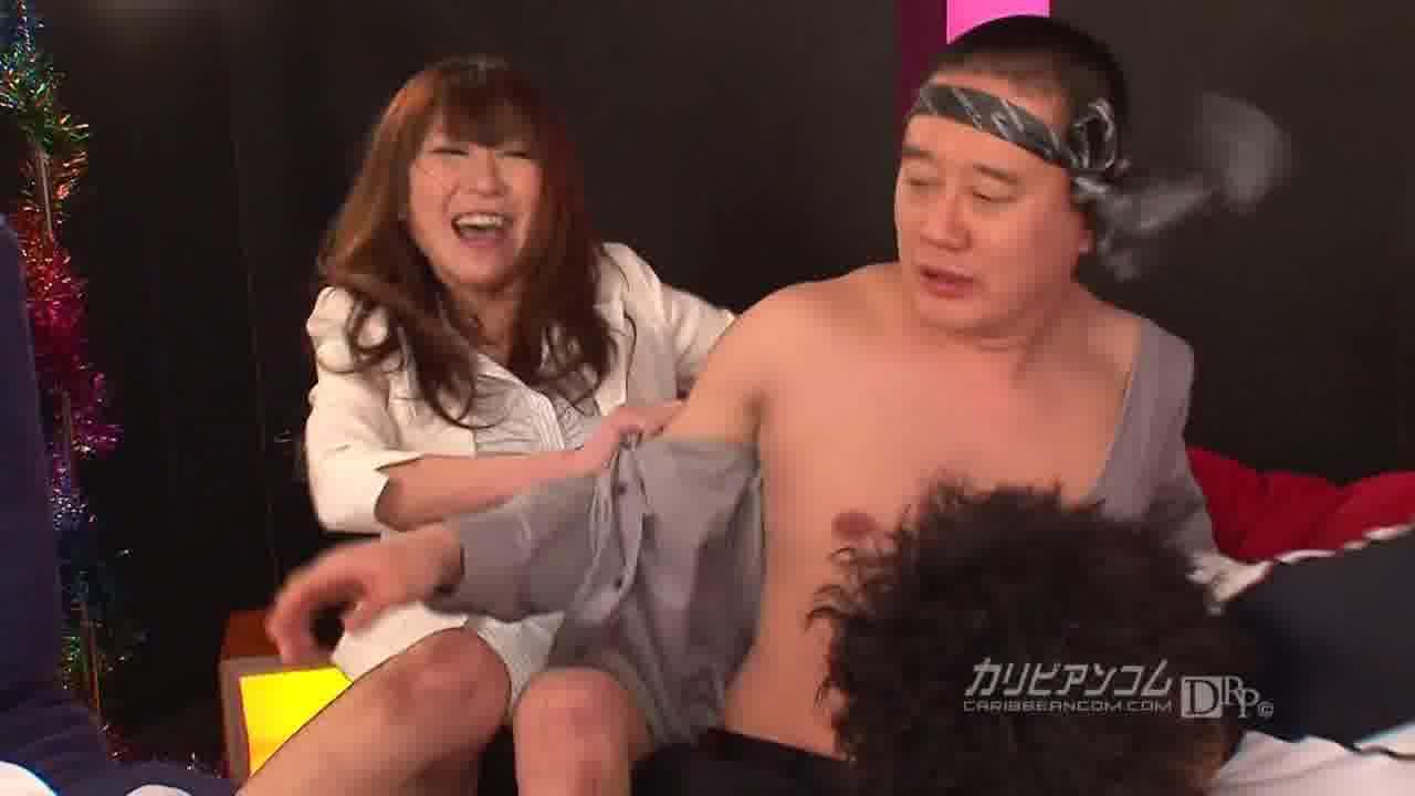 カラオケde泥酔痴女 - 星優乃【痴女・乱交・中出し】