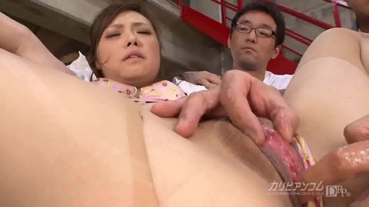 女子アナ強姦 - 広瀬藍子【ハード系・隠語・中出し】