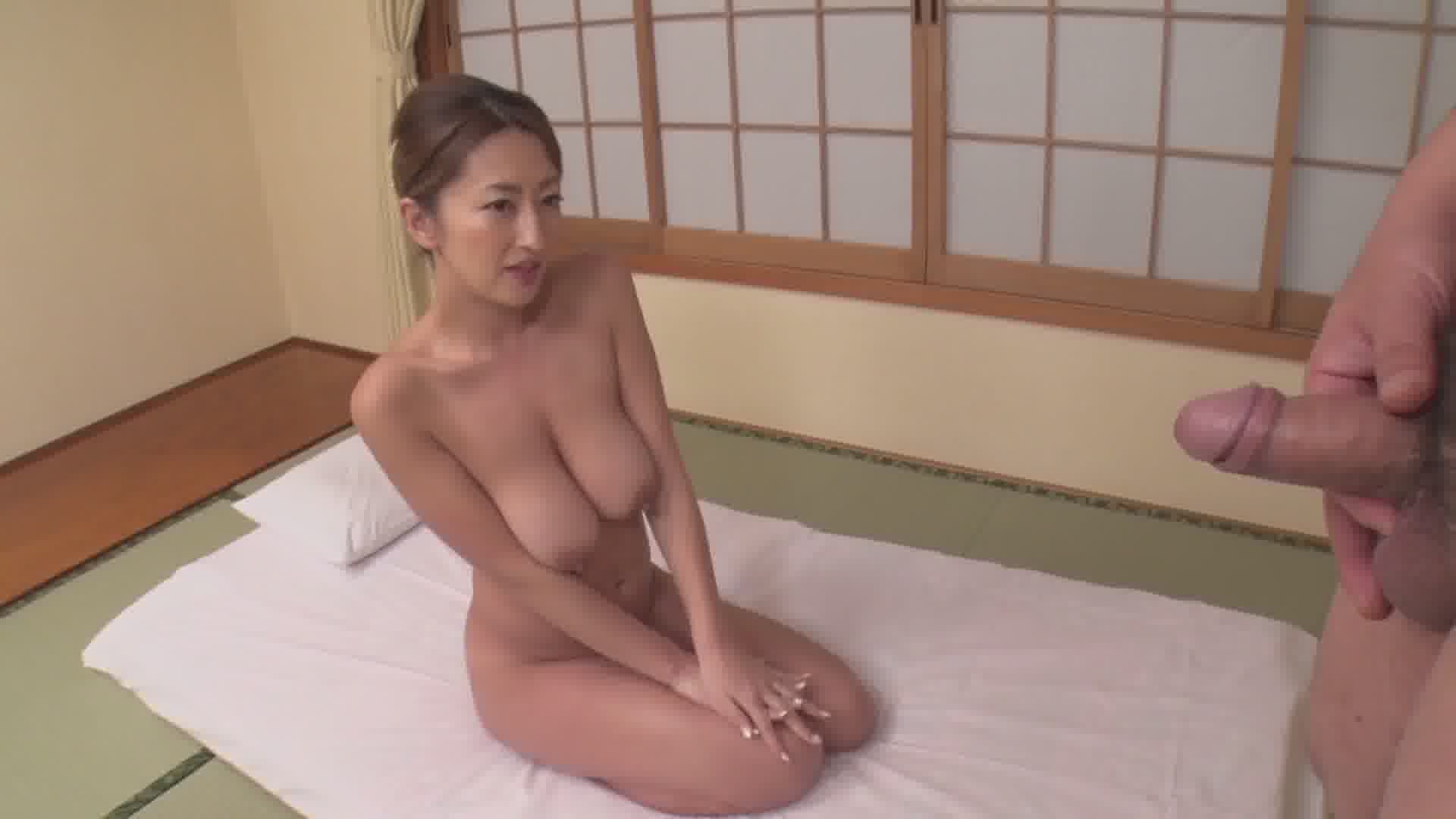 チンコを好きすぎる旅館女将 - 玲奈【痴女・乱交・着物】