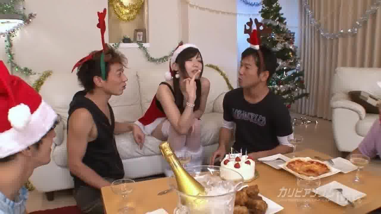 中出しサンタ2012 - つくし【潮吹き・バイブ・3P】