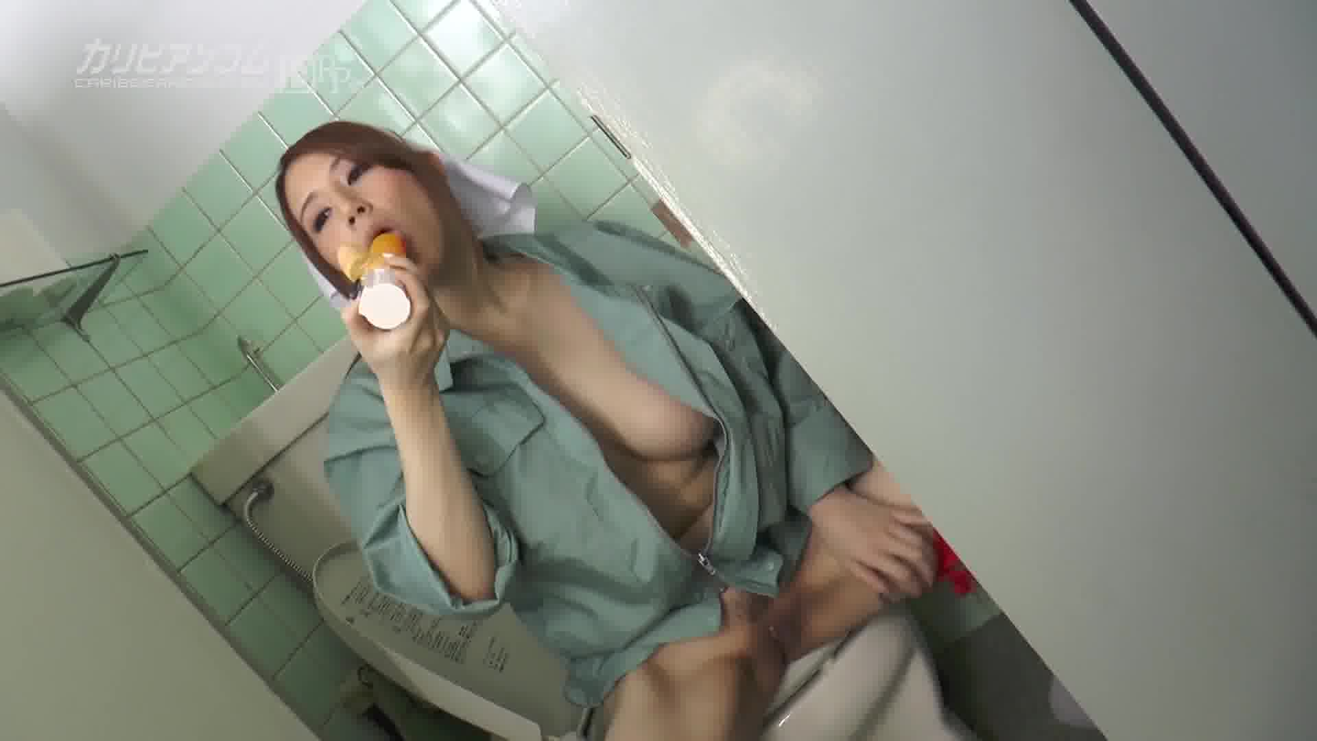 美人掃除婦が小便している僕のチンコも大掃除してくれた - 小泉真希【痴女・巨乳・バイブ】