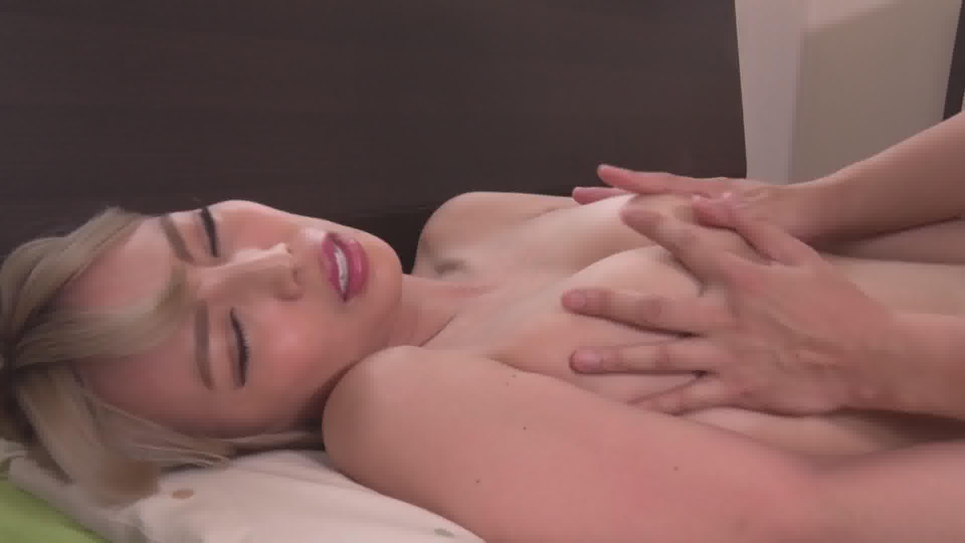 いじられ続けてガチガチになるマゾ乳首3 - ルナ【ギャル・水着・中出し】