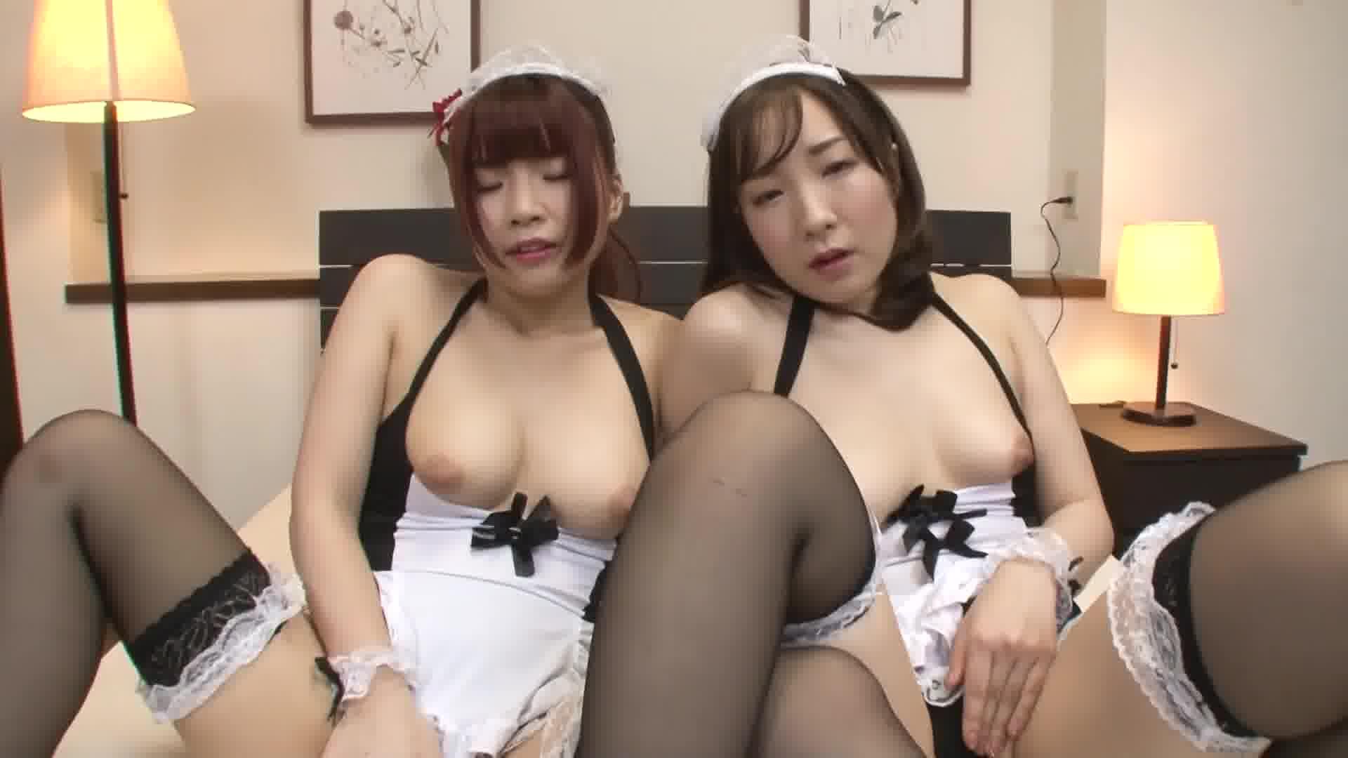 子作り懇願3Pメイド ~おおきくなぁれっ!萌え萌えキュン!~ - さおり【メイド・3P・中出し】