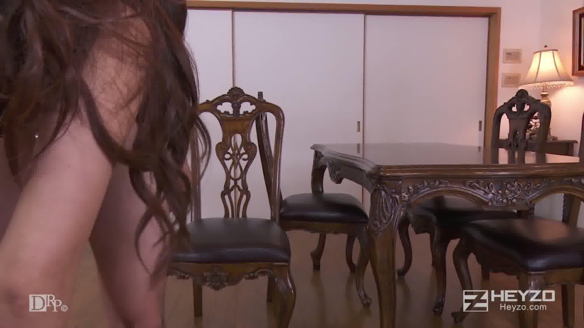 続々生中~感じすぎる脚線美~ - LinoA【騎乗位 フェラ 手マン イス テーブル 中出し】