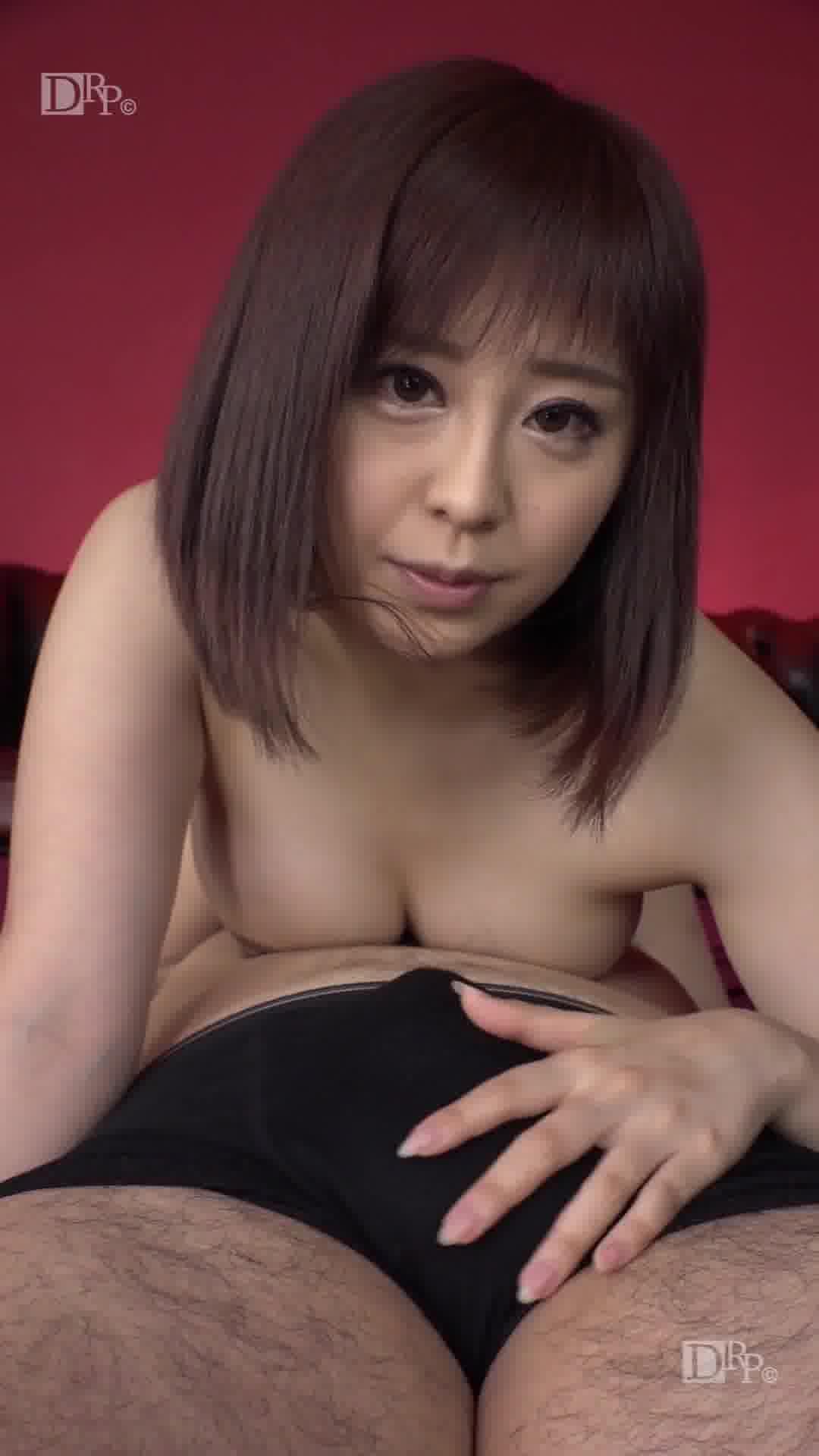 縦型動画 015 ~ロックな顔面騎乗位~ - 観月奏【痴女・手コキ・69】