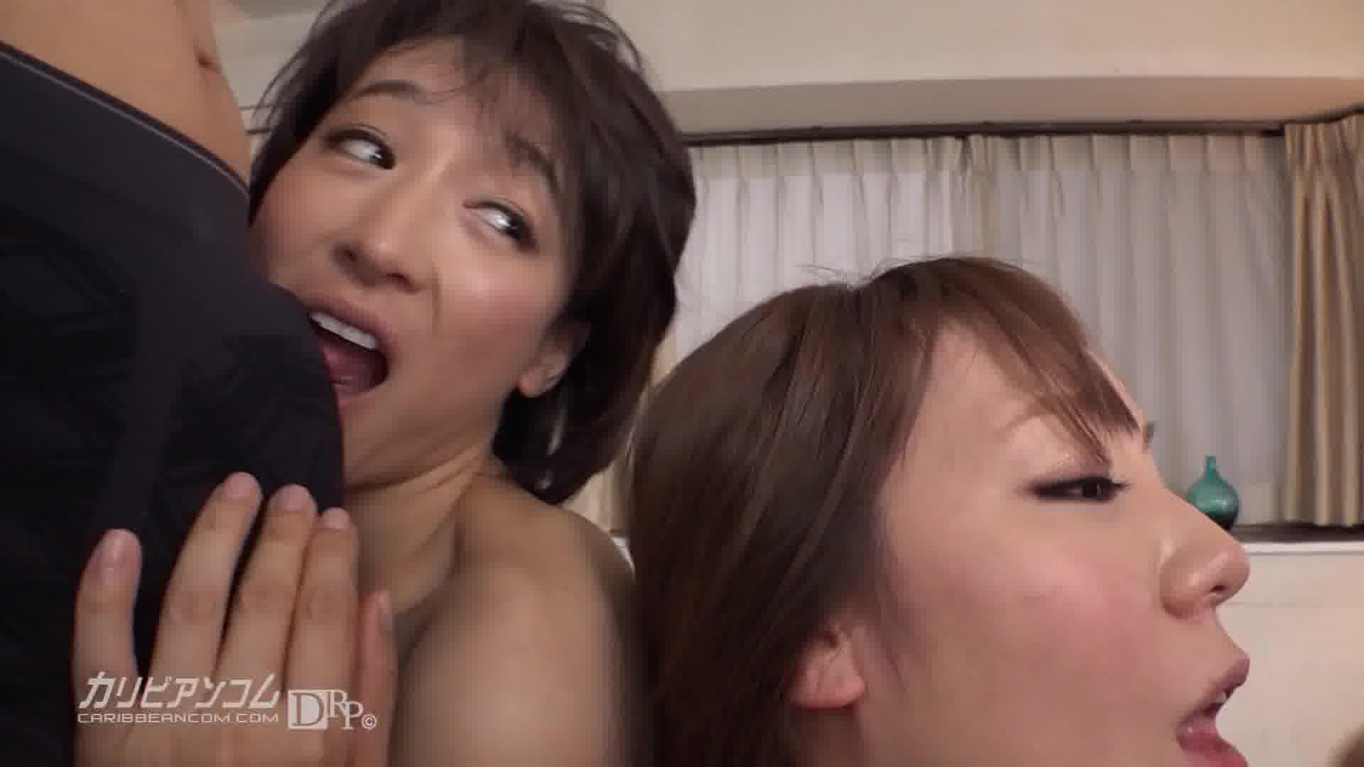 母はアナル!娘はマンコ!頭のおかしい本物親子の4P共演 - 萌芭【痴女・乱交・ギャル】