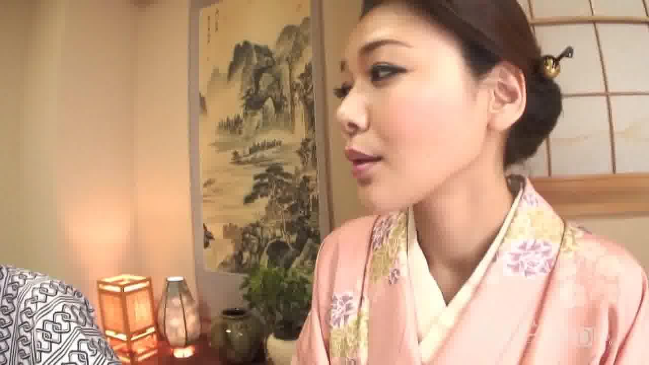 温泉美人女将 - 内田美奈子【野外露出・巨乳・中出し】
