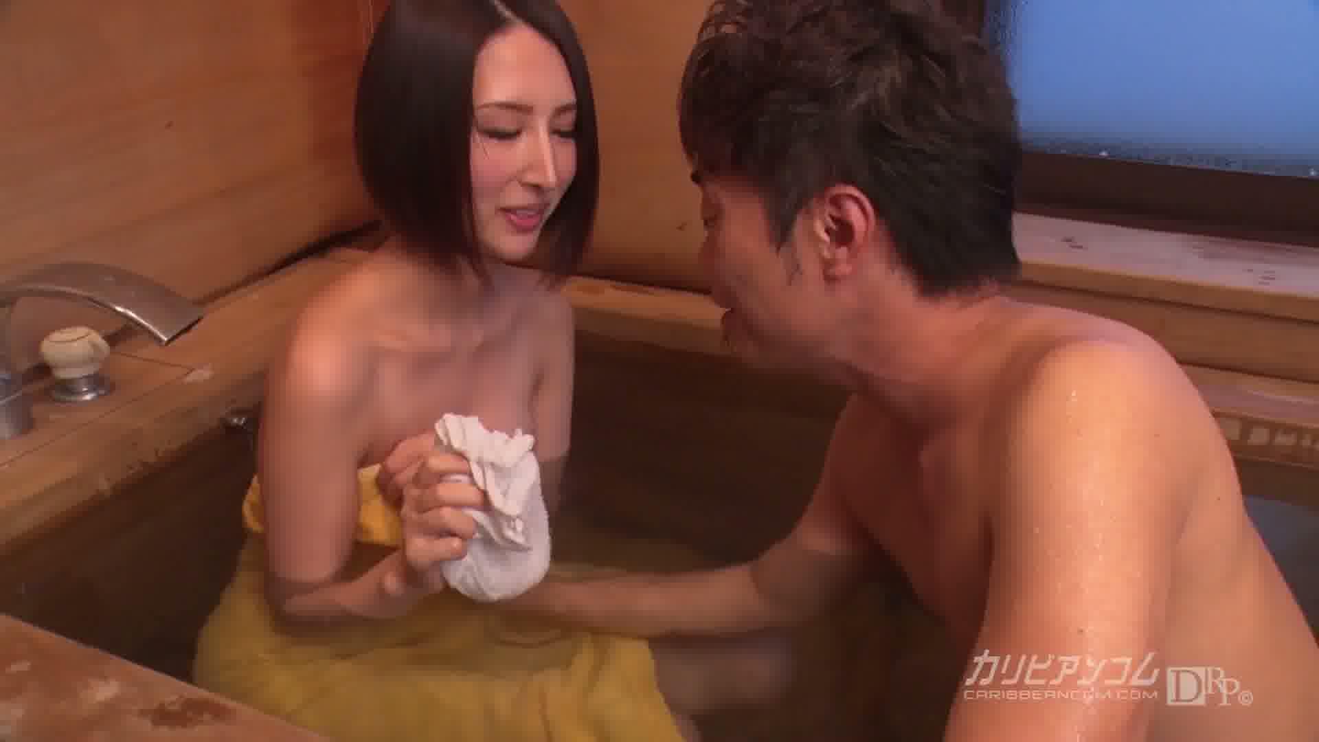 洗練された大人のいやし亭 ~何度もイっちゃうリナをお許しください~ - 七瀬リナ【美乳・美脚・浴衣】