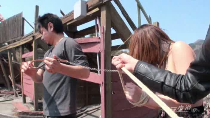 グラドル 廃墟に魅せられて 北川ケイ【北川ケイ】