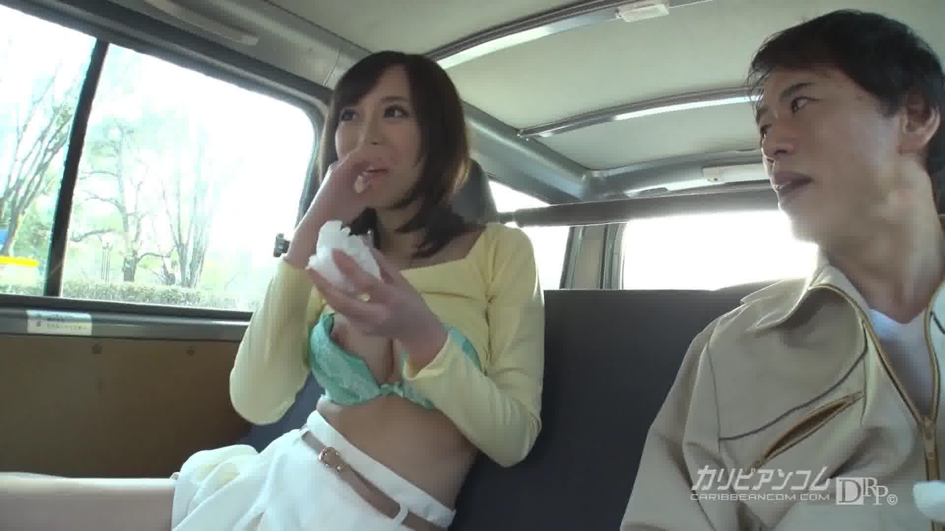 所持金ゼロ!目指せ広島!神BODYヒッチハイク! - 山手栞【巨乳・10代・カーセックス】