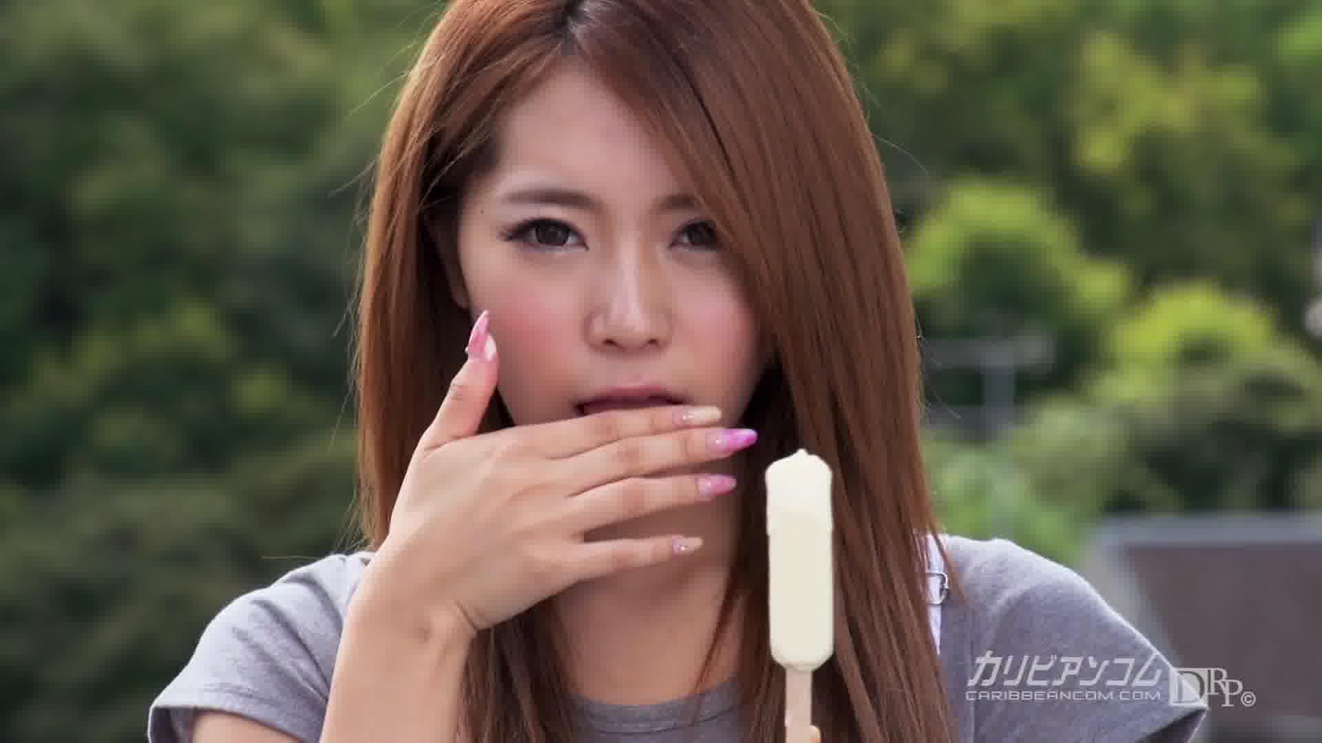 乳首の卑猥な潮吹き女子大生 - 大森玲菜【ザーメン・微乳・初裏】