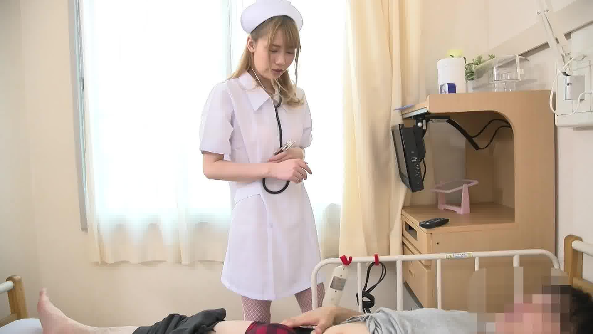 お願いされたら断れないナースのお仕事 〜余分な精子は私がドレーンしてあげます〜 - 如月結衣【看護婦・手コキ・ぶっかけ】