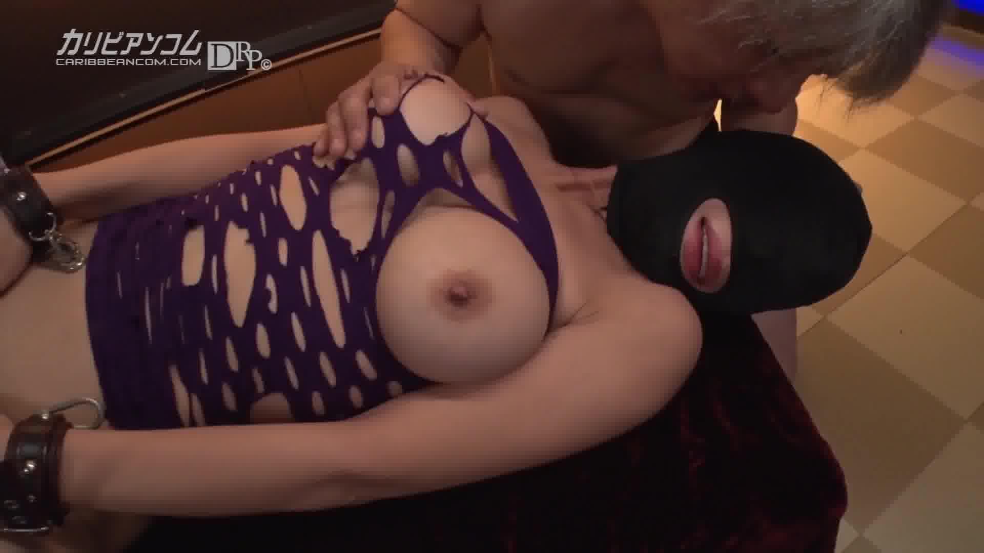 性欲処理マゾマスク ~乳首を強く引っ張ってぇ~ - 性欲処理マゾマスク 07号【ボンテージ・パイパン・巨乳】