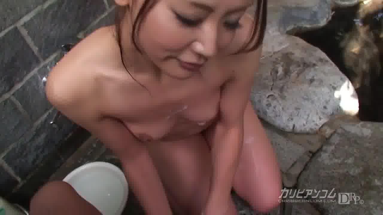 彼女とハメ撮り温泉旅行 ~前編~ - 倉木みお【ハメ撮り・痴女・野外露出】