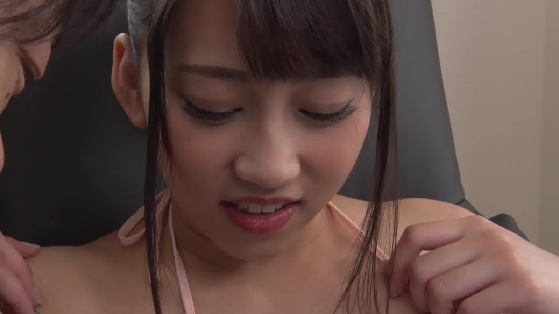 いじられ続けてガチガチになるマゾ乳首8 - 青木美香【スレンダー・バイブ・中出し】
