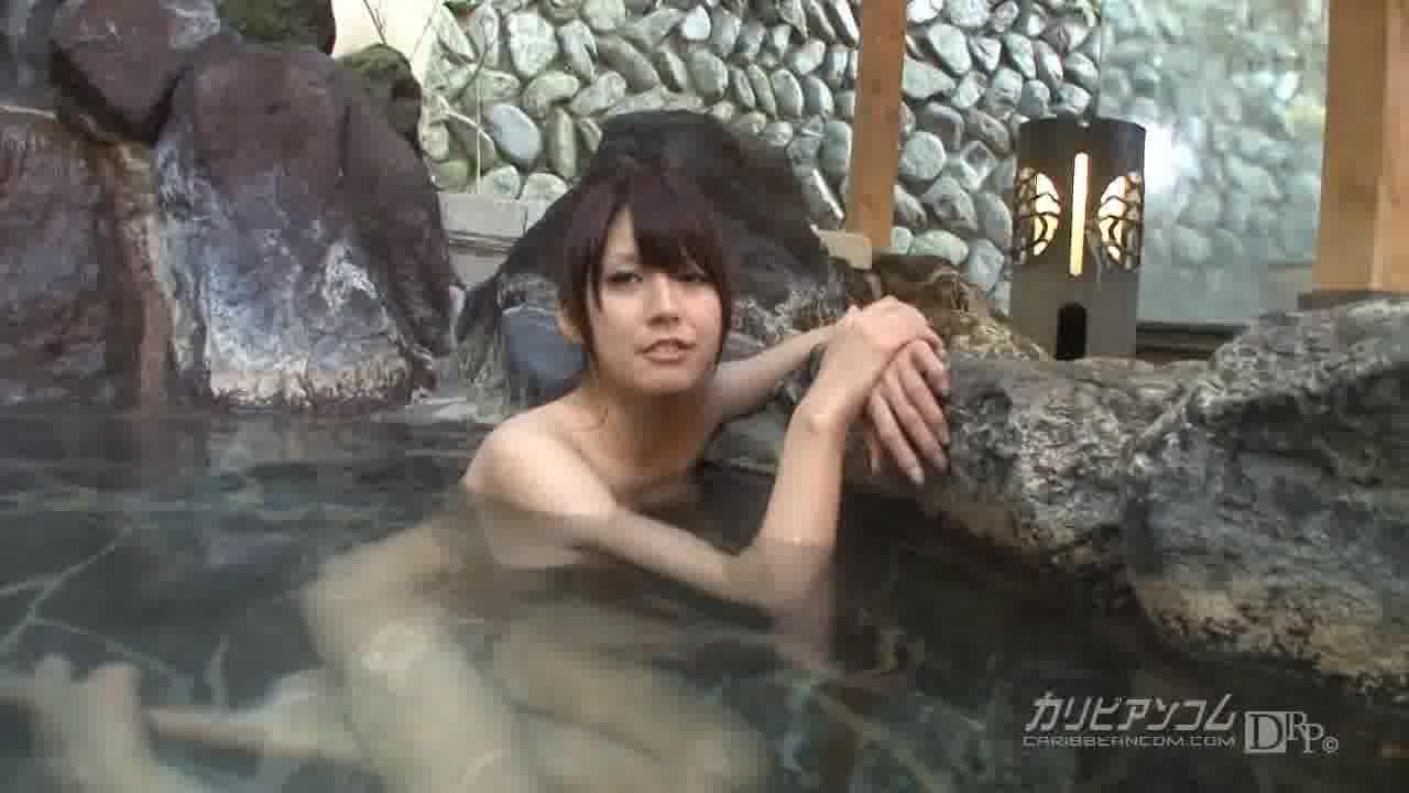 タオル一枚混浴レポートしてみませんか? - 瞳りん【巨乳・オナニー・手コキ】