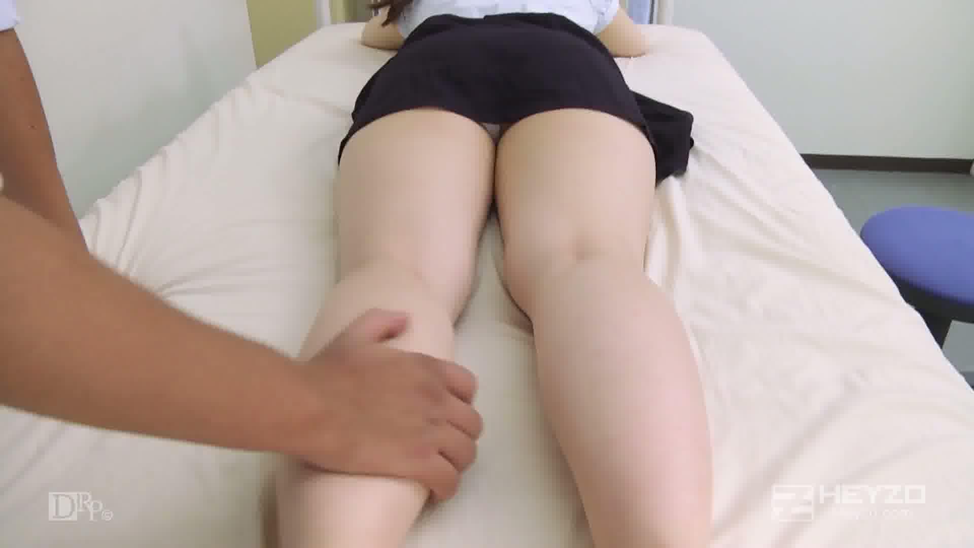 整体マッサージにハマった若妻 - 花穂【診察 マッサージ】
