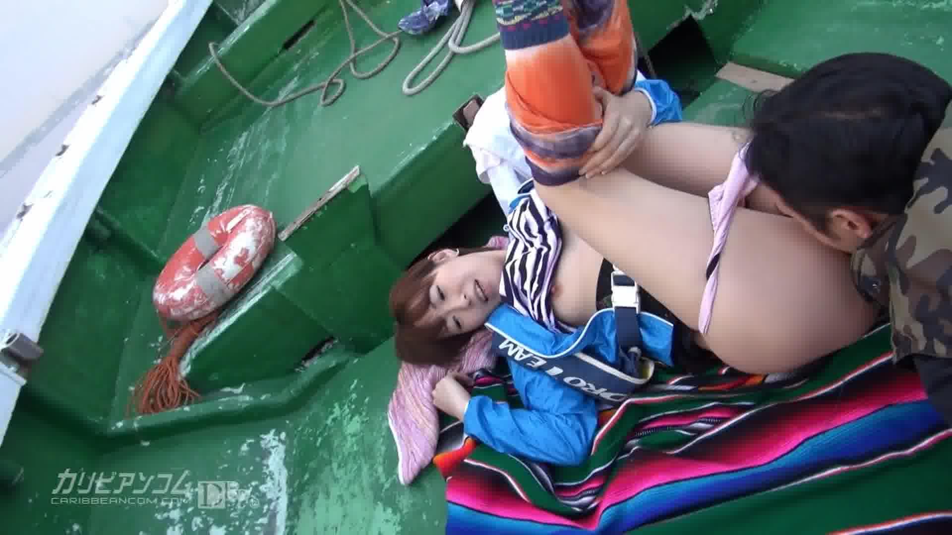 AVプロダクション対抗チキチキ海釣り大会 PART1 - 桜瀬奈【乱交・野外露出・中出し】