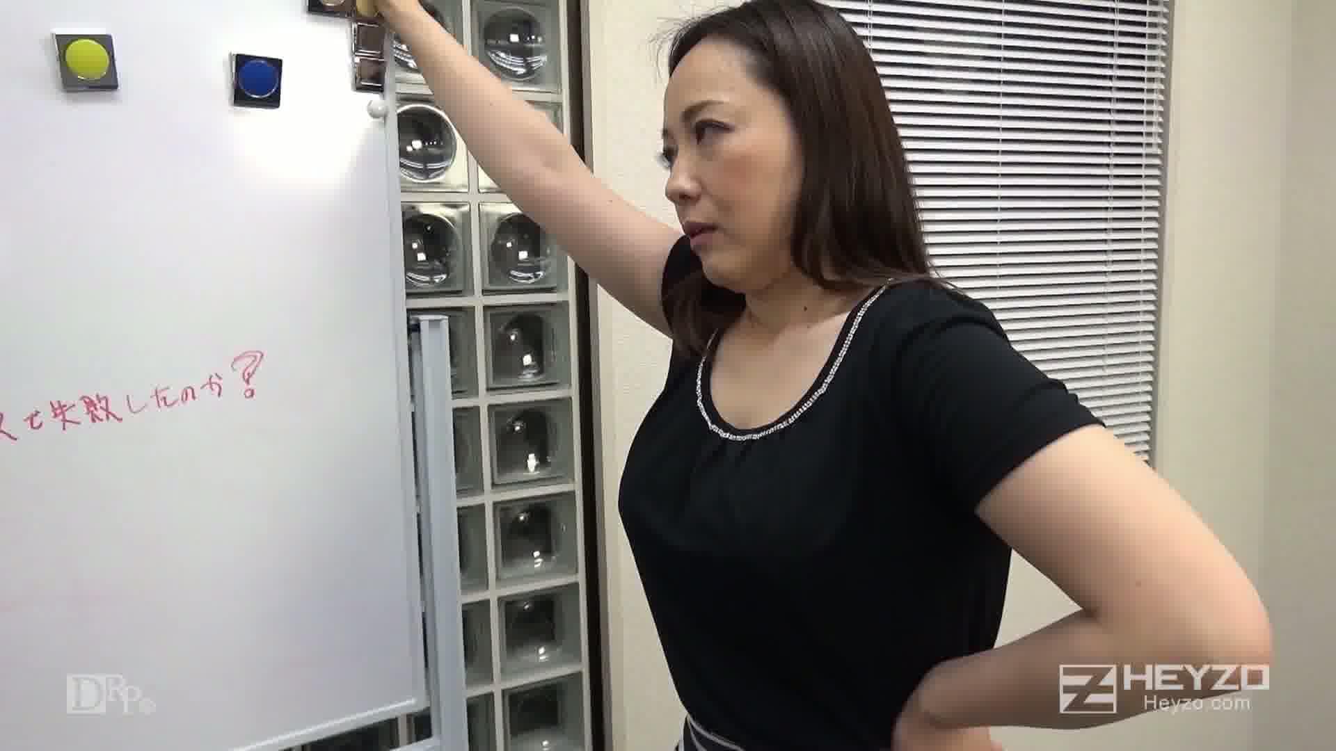 ヤリ手女社長はヤリたがり!~部下の下半身を奮い勃たします!~ - 南澤ゆりえ【説教 パンスト破り M字開脚】