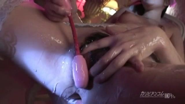 ぬるぬる微乳エンジェル - 小泉梨菜【ザーメン・3P・顔射】