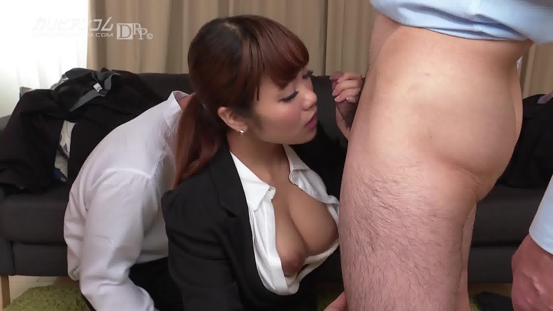 新入社員のお仕事 Vol.21 - あかね杏珠【巨乳・パイパン・OL】
