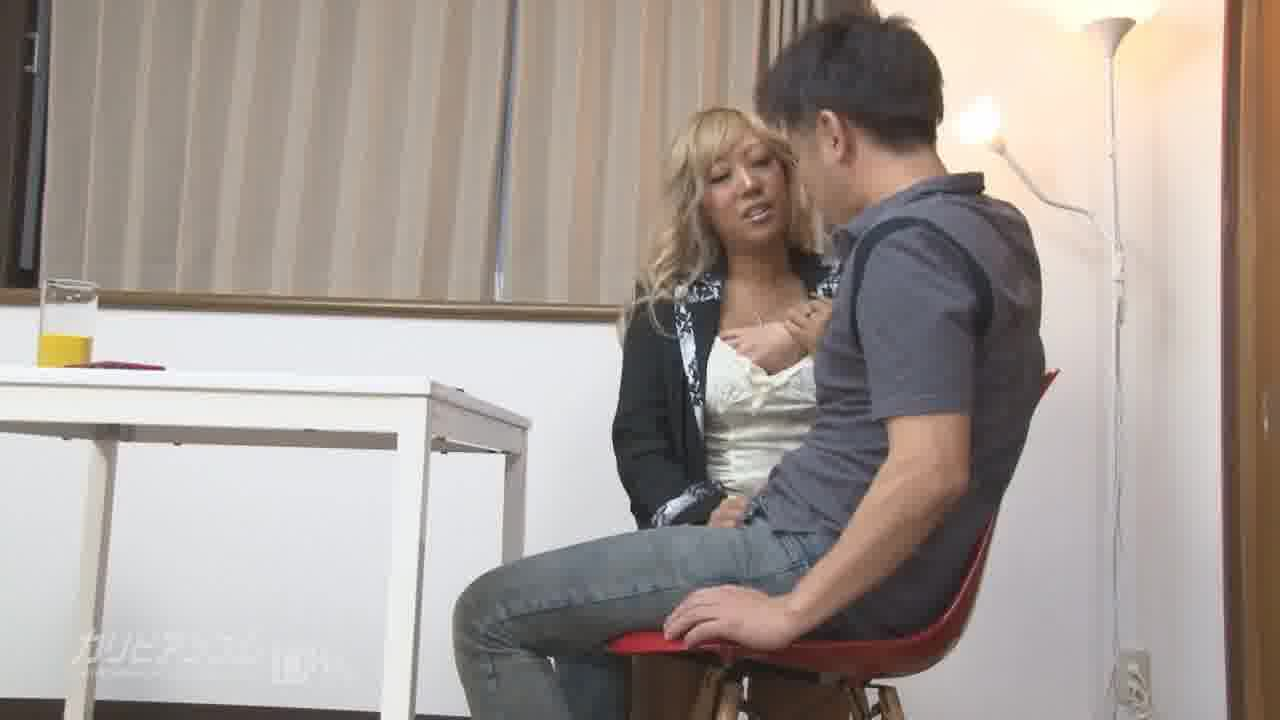 黒ギャル痴女が教えるスマホ出張講座 - 瑠菜【痴女・ギャル・中出し】