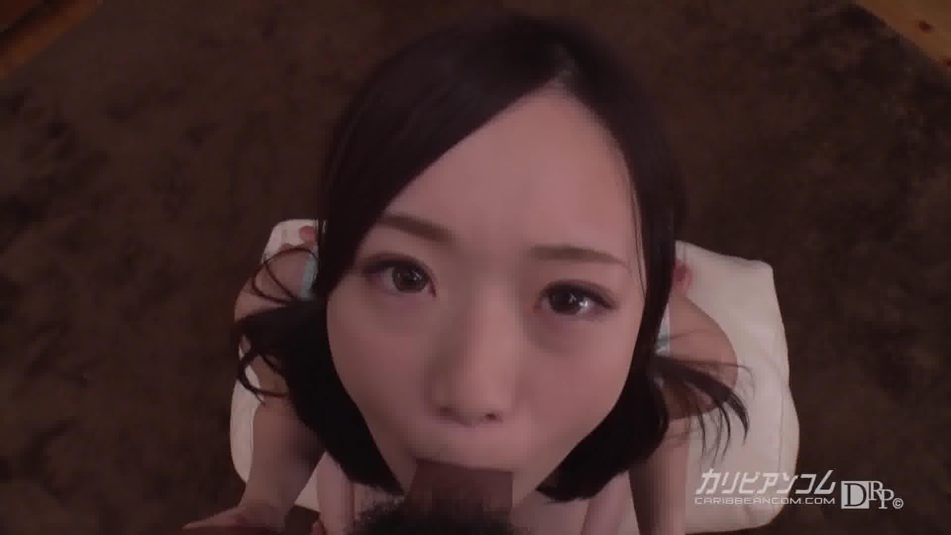 THE 未公開 ~主観イラマチオ~ - 瀬奈まお【微乳・イラマチオ・口内発射】