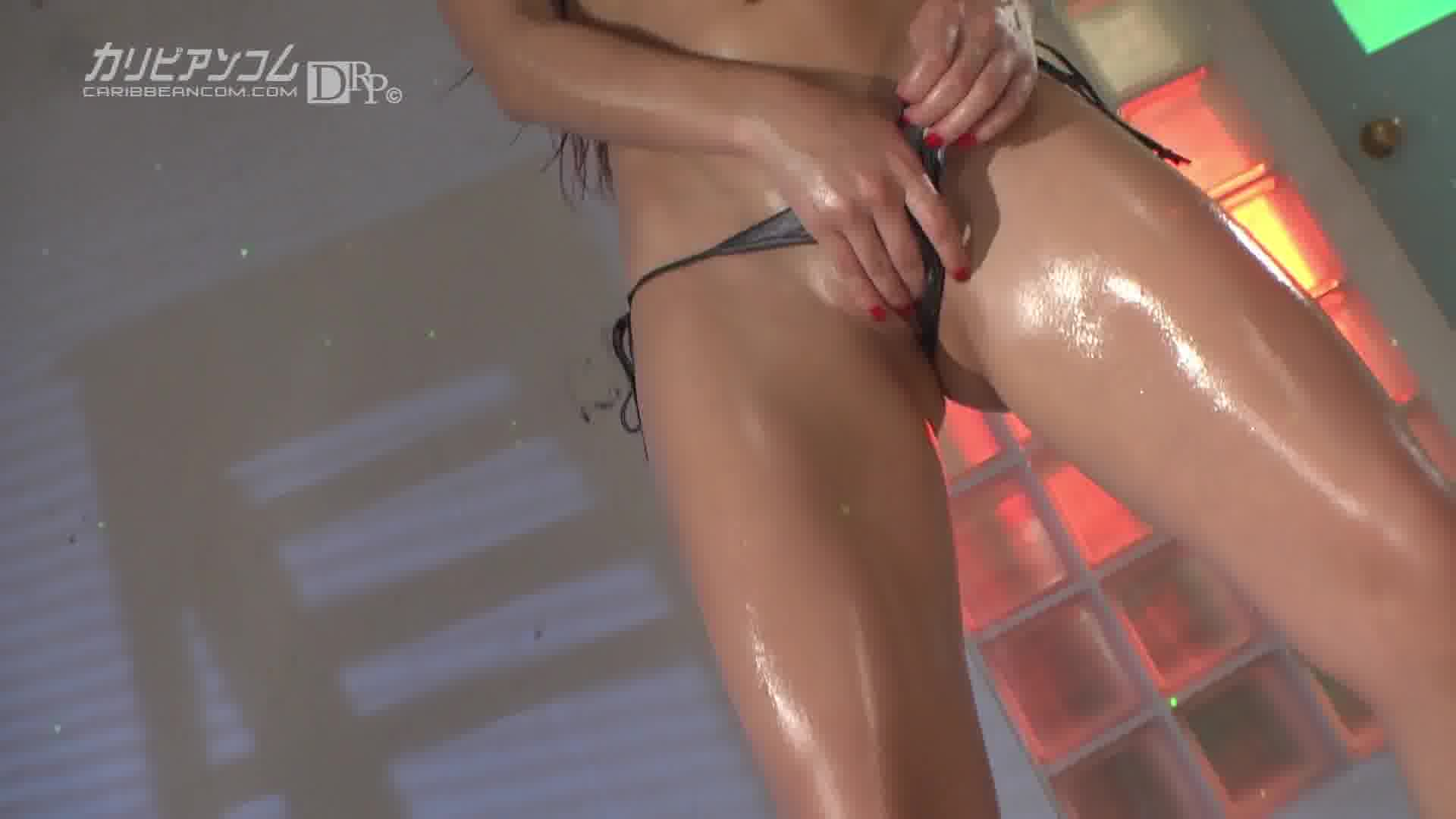 ローションエロダンス Vol.10 - 若槻シェルビー【パイパン・ギャル・中出し】