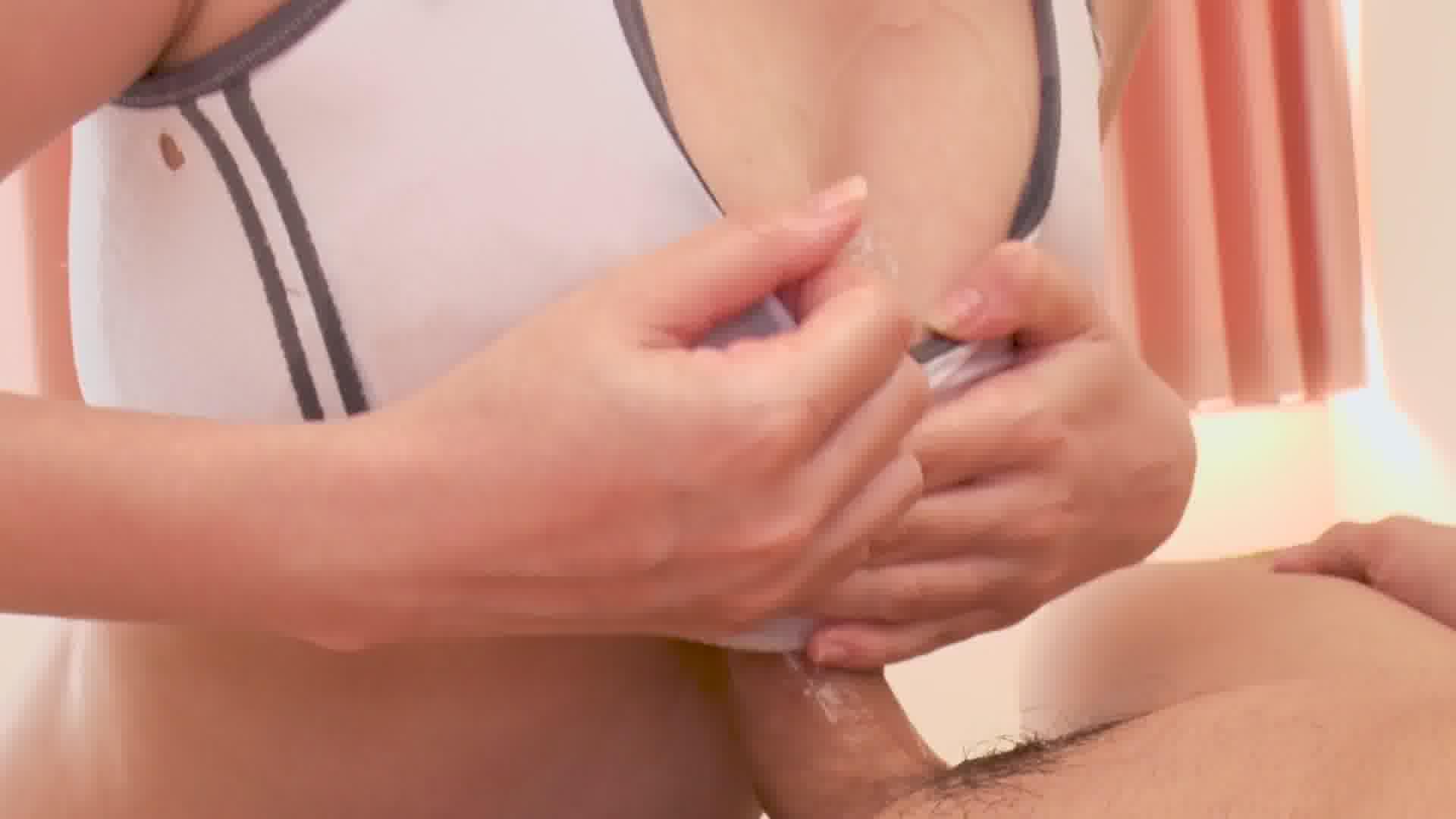 スケスケ水着deヌルヌルプレイ - 杏奈りか【巨乳・水着・パイズリ】