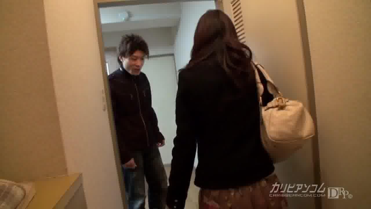 デリヘル依頼者にドッキリでAV嬢小野麻里亜を届けて撮影に参加してもらいました! - 小野麻里亜【巨乳・潮吹き・中出し】