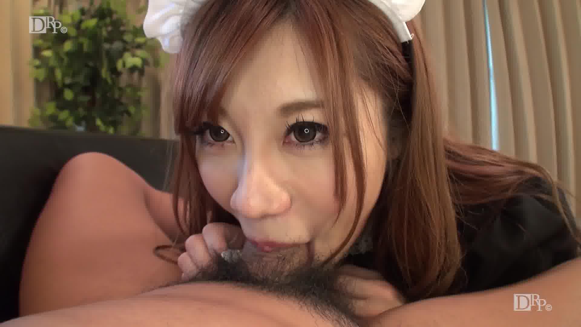 即尺ご奉仕メイド ~ご主人様のおちんぽを掃除させて下さい~ - 大咲萌【メイド・パイパン・中出し】